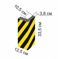 ДУ-ВП-2 Демпфер угловой из вспененного полиэтилена
