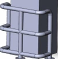 КМ-950/76х3 угловой на отводах Цена индивидуальна