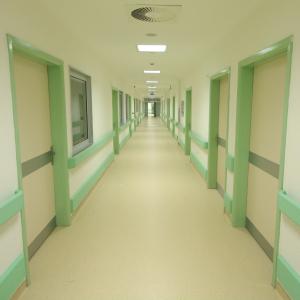Поручни-отбойники для медицинских учреждений