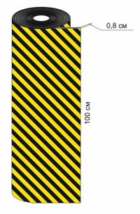 ПВХ-Р Стеновой отбойник рулонный из вспененного полиэтилена