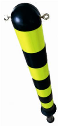 Столбик резиновый  780мм стационарный