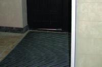 Решетка очищающая в тамбур Резина, Ворс