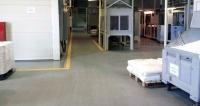 ПВХ плитка для склада и цеха