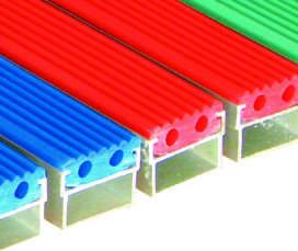 Грязезащитная решетка с очищающей вставкой из Резины
